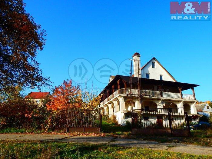 Prodej, rodinný dům, 412 m2, Domašín - Petlery