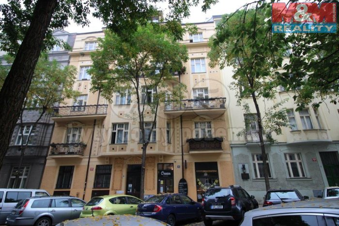 Pronájem, obchod a služby, 96 m2, Praha 2, ul. Mánesova
