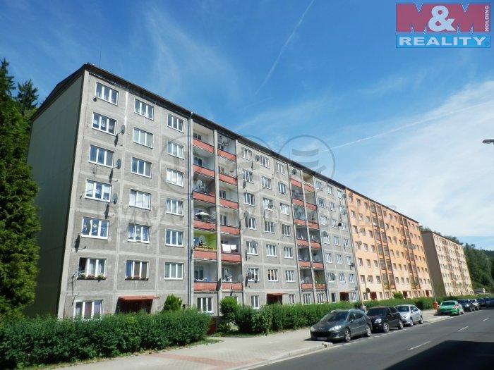 Pronájem, byt 2+1, 53 m2, Kraslice, ul. Čsl. armády