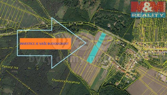Prodej, podíl na pozemku, 8021 m2, Drnovice u Vyškova