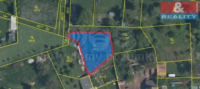 Prodej, pozemek, 605 m2, Úlice