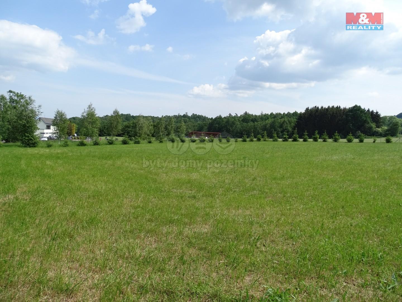 Prodej, stavební pozemek, 4173 m2, Pihel, okres Česká Lípa