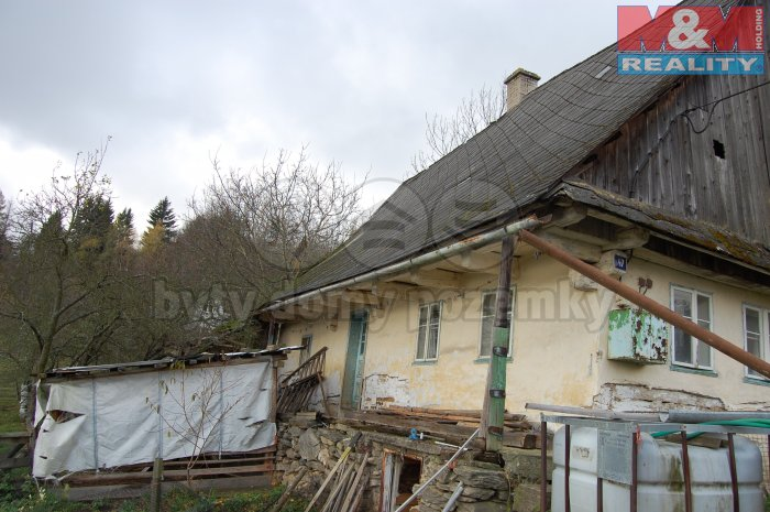 Prodej, chalupa 2+kk, 3852 m2, Jakubovice