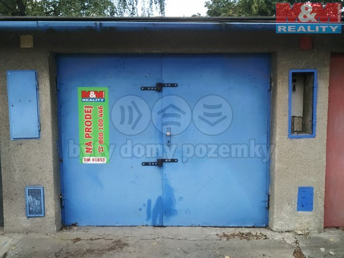 Prodej, garáž, 20 m2, Ostrava - Mor. Ostrava, ul. Zelená