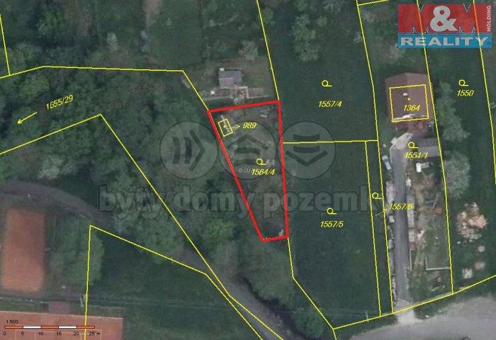 Prodej, zahrada, 509 m2, Nýrsko