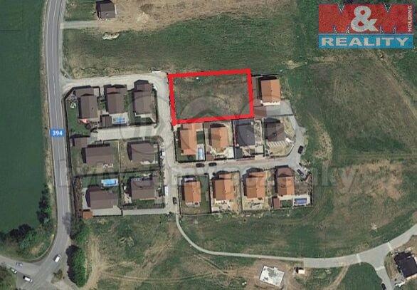 Prodej, pozemek, 1250 m², Neslovice