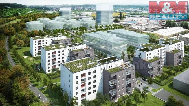 Prodej, byt 1+kk, 56 m2, Praha 9, Kolbenova, zahrada 83 m2.