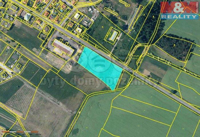 Prodej, komerční pozemek, 6703 m2, Jestřabí Lhota