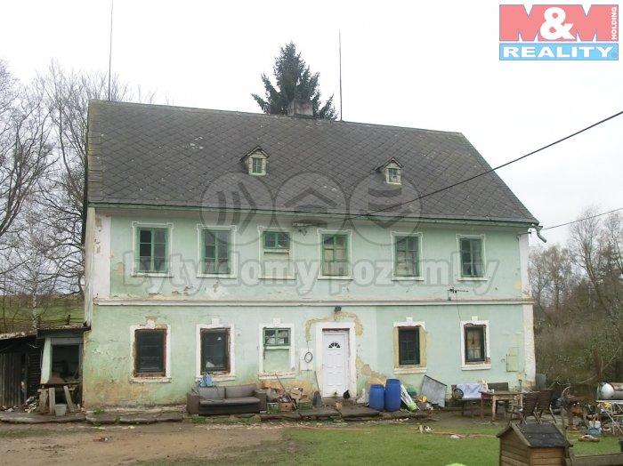 Prodej, rodinný dům, 11753 m2, Toužim - Radyně