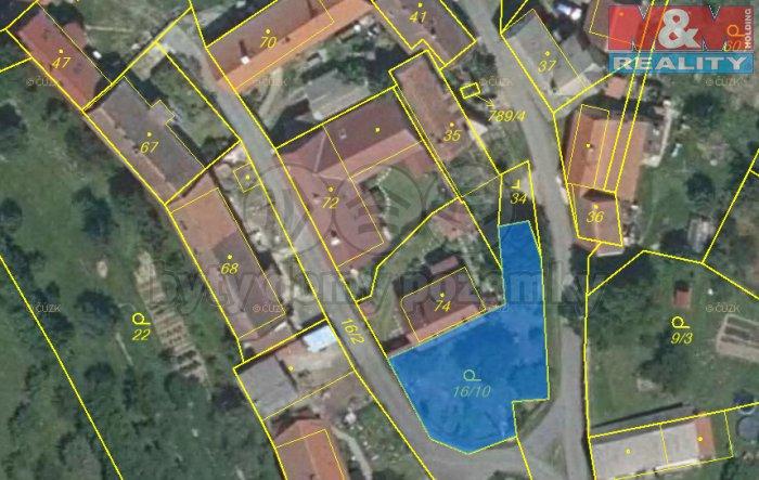 Prodej, zahrada, 380 m2, Lašovice