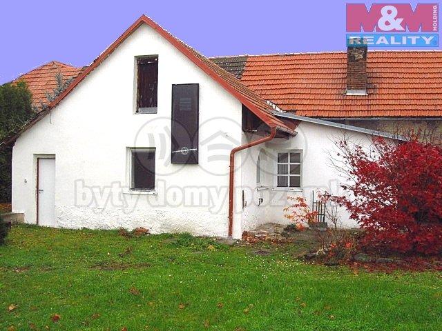 Prodej, rodinný dům, 2+1, 519 m2, Mnetěš