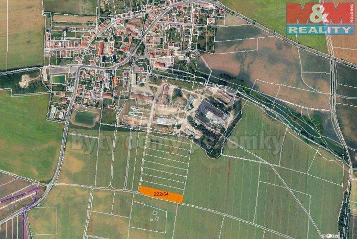 Prodej, orná půda, 3760 m2, Třebusice