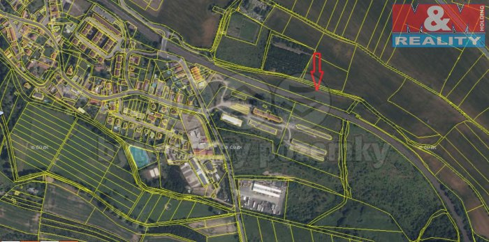 Prodej, orná půda, 9592 m2, Praha 10 - Kolovraty