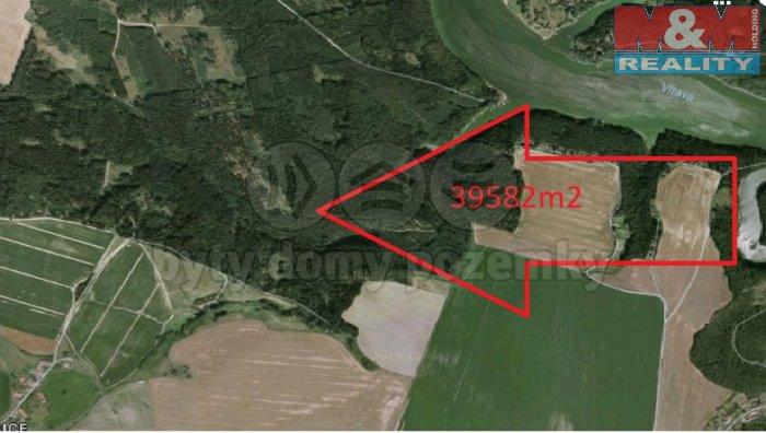 Prodej, les, 39582 m2, Jamný u Záhoří