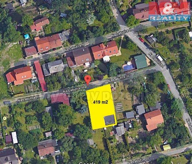 Prodej, zahrada, 419 m2, Praha - Libeň