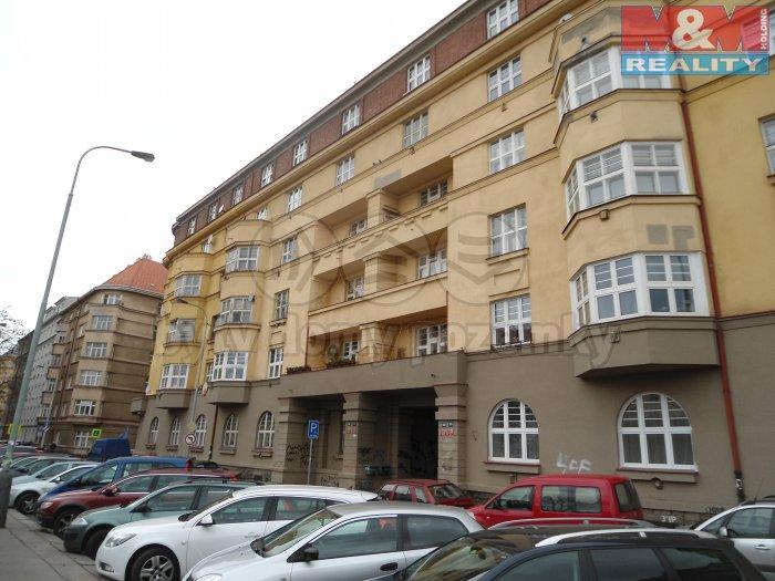 Pronájem, kancelářské prostory, 90 m2, Praha 3, ul. Slezská