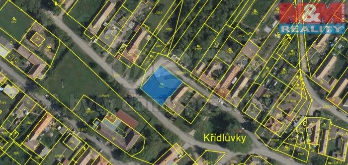 Prodej, stavební parcela, Křídlůvky