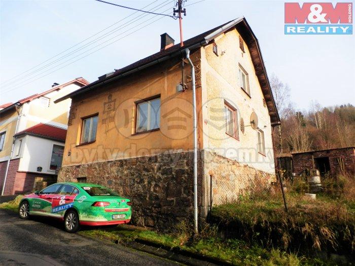 Prodej, rodinný dům 3+1, 83 m2, Kraslice
