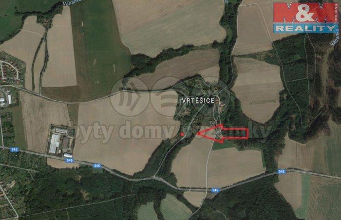 Prodej, zemědělský objekt, 1718 m2, Vrtěšice