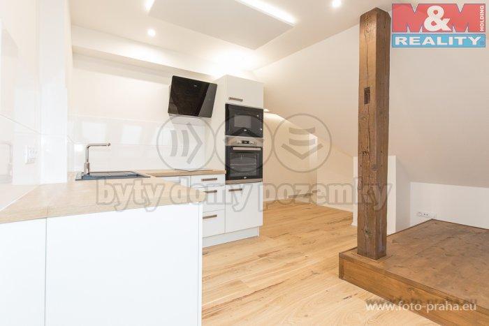 Prodej, byt 1+kk, 34 m2, Praha - Holešovice