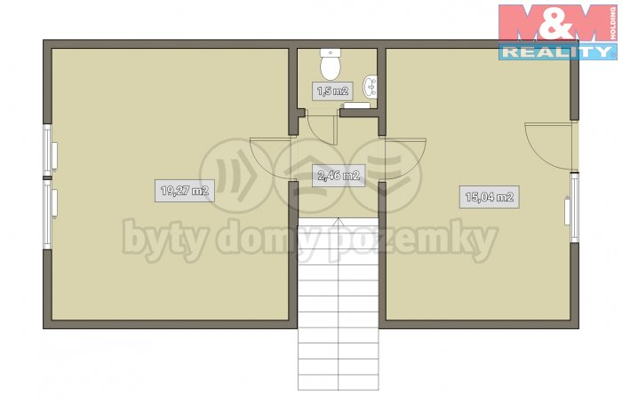 Prodej, rodinný dům, Holčovice - Komora
