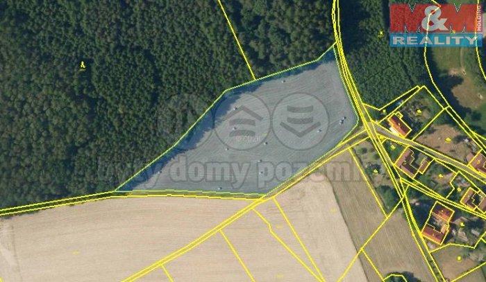 Prodej, pozemek, 12110 m2, Vračovice