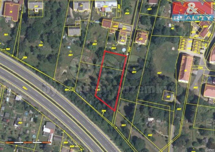 Prodej, pozemek, 1446 m2, Chrastava, ul. Bílokostelecká