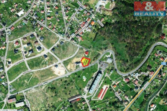 Prodej, pozemek, 947 m2, Jílové - Martiněves