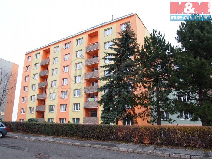 Prodej, byt 1+1, 34 m2, OV, Chomutov, ul. Zahradní