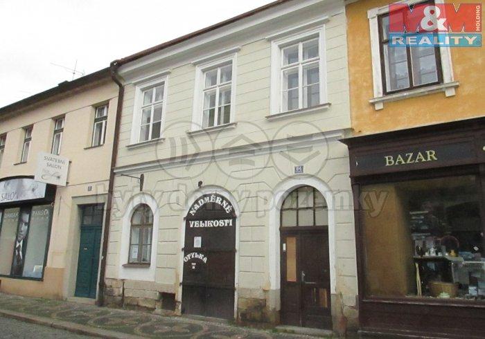 Prodej, komerční objekt, Jičín