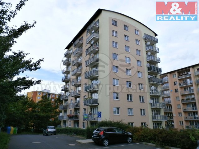 Pronájem, byt 3+kk, 73 m2, Drahovice, ul. Waldertova