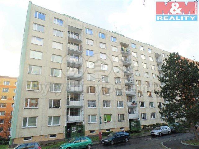 Pronájem, byt 1+1, 34 m2, Ústí nad Labem, ul. Kmochova