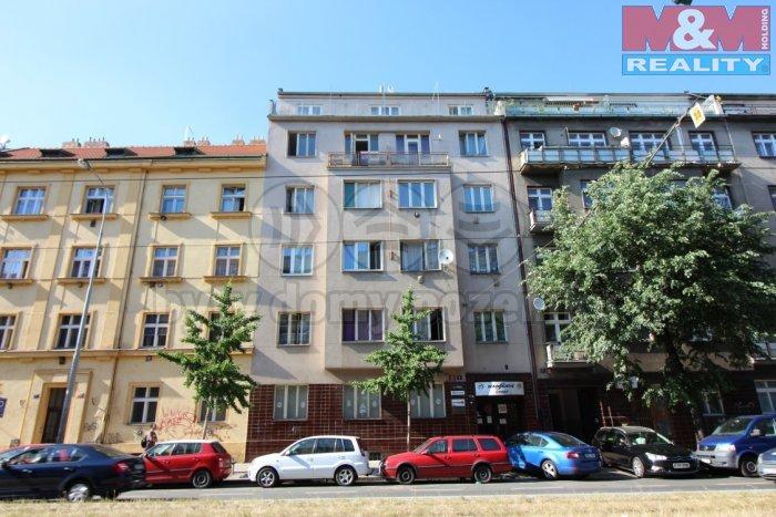 Pronájem, kancelář 48 m2, Praha 10 - Vršovice, ul. Vršovická