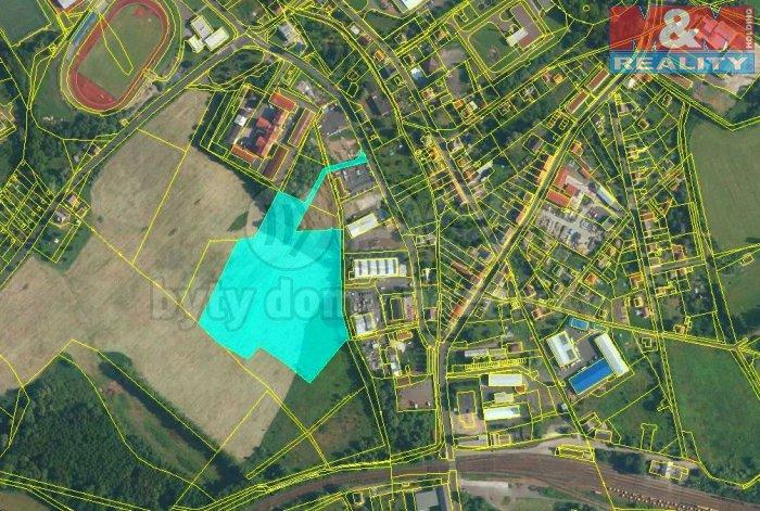 Prodej, stavební parcela, 34214 m2, Nové Modlany