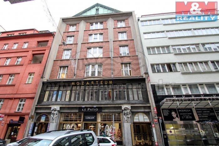 Pronájem, kancelářské prostory, 165 m2, Praha 1, Jungmannova