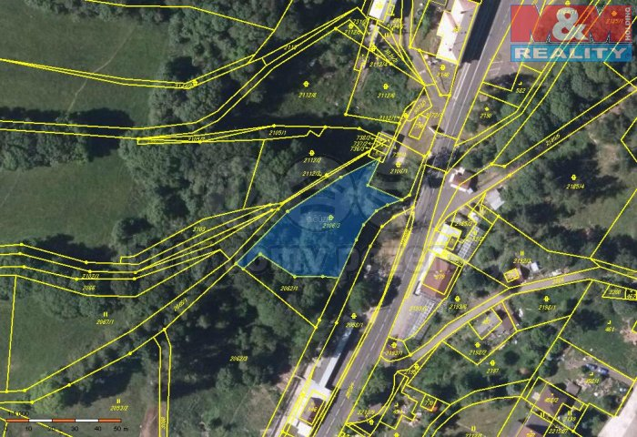 Prodej, stavební pozemek, 3194 m2, Petrovice