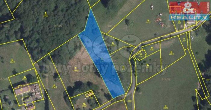 Prodej, stavební pozemek, 2331 m2, Hrádek nad Nisou