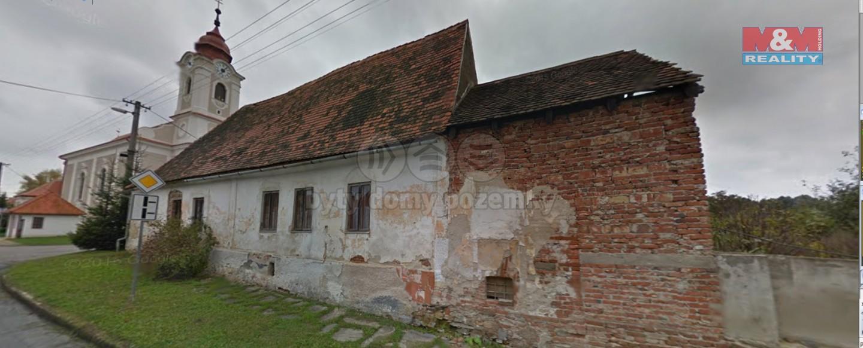 Prodej, rodinný dům 3+1, 515 m2, Šafov