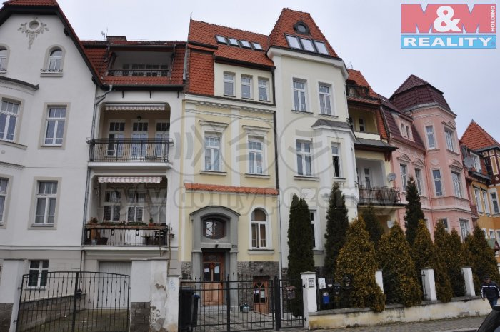 Prodej, byt 2+kk, 38 m2, OV, Teplice, ul. Baarova