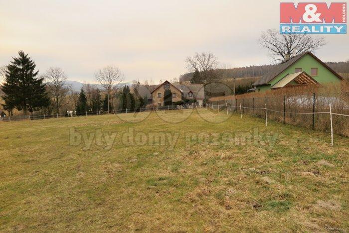 Prodej, pozemek, 1605 m2, Nová Ves u Chrastavy