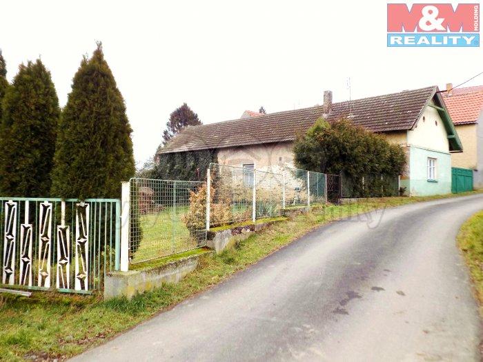 Prodej, rodinný dům, pozemek 500 m2, Toušice