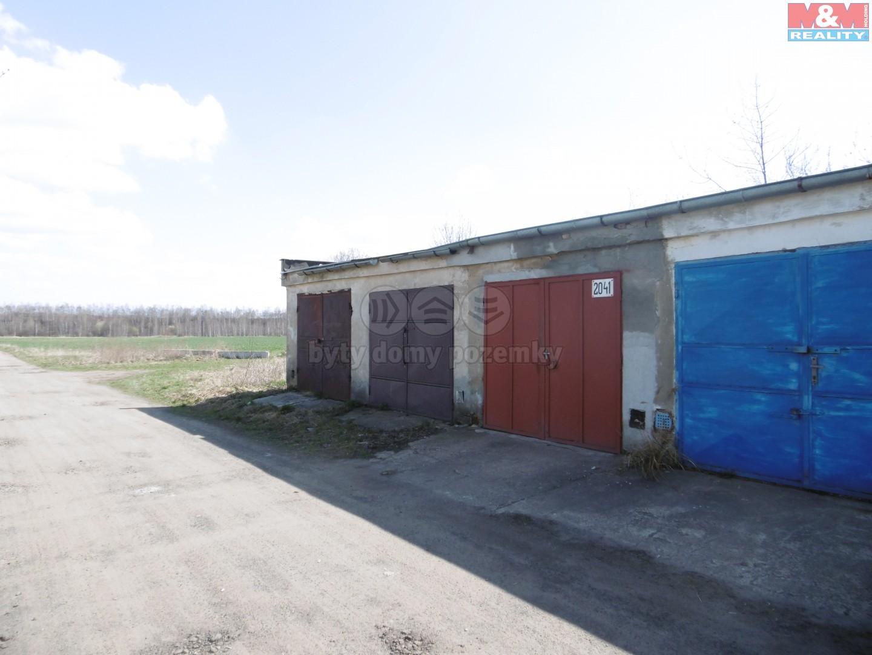 Prodej, garáž, 20 m2, Jirkov, ul. Zaječická