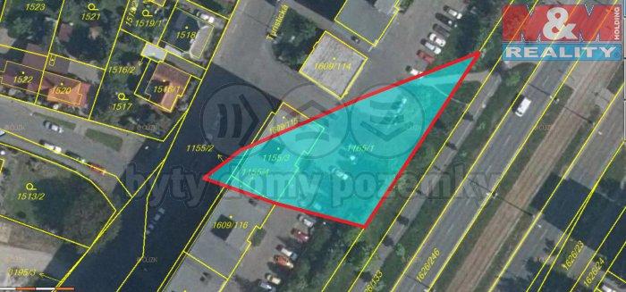 Prodej, pozemky, 1239 m2, Plzeň, ul. Turistická