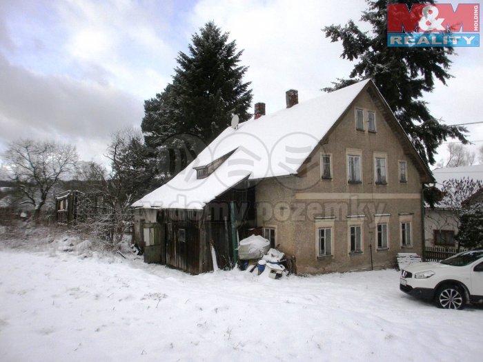 Prodej, rodinný dům 7+1, 4492 m2, Dolní Poustevna, Karlín