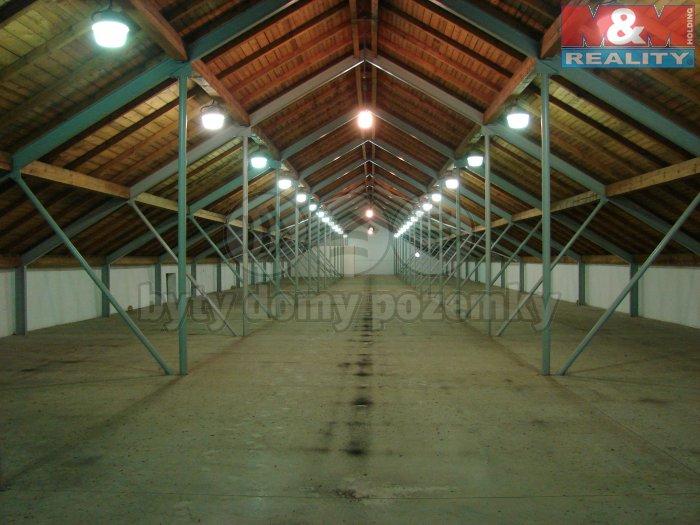Pronájem, sklady, 1050 m2, Velké Hoštice