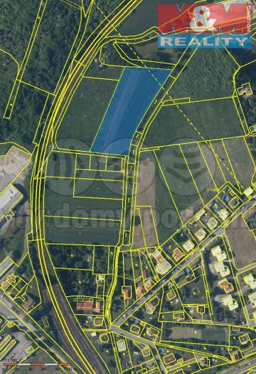 Prodej, pole, 7806 m2, Malín