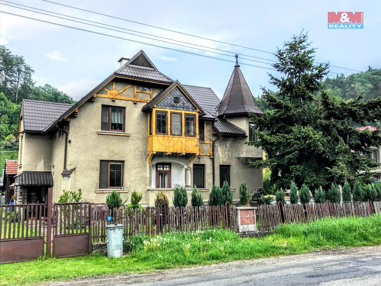 Prodej, rodinný dům, 431 m2, Hanušovice, ul. Jesenická