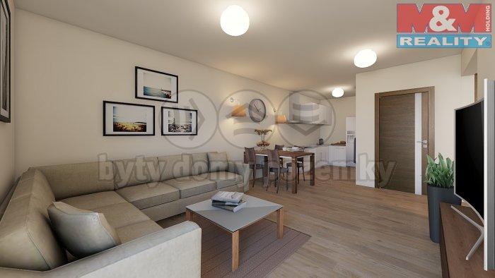 Prodej, byt 1+kk, 56 m2, OV, Praha 5 - Klamovka