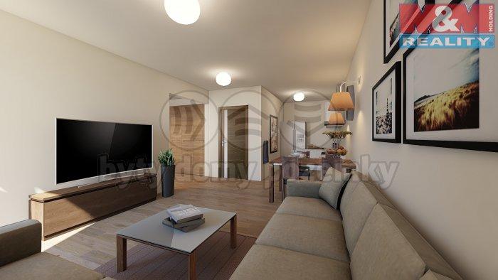 Prodej, byt 1+kk, 57 m2, OV, Praha 5 - Klamovka