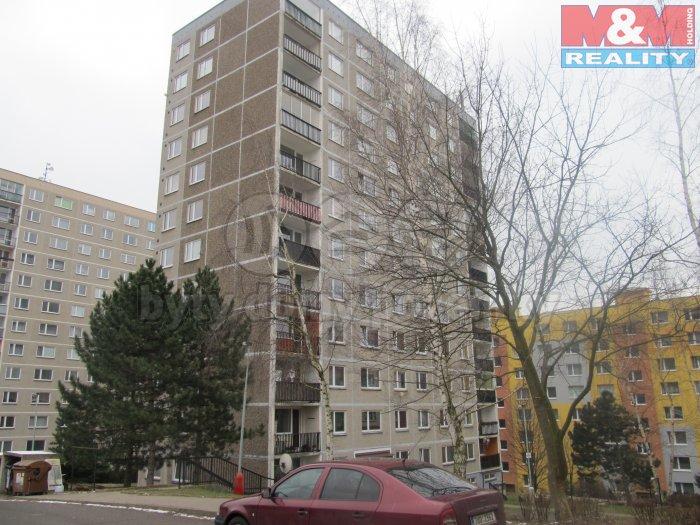Pronájem, byt 2+kk, 40m2, Ústí nad Labem, ul. Šrámkova